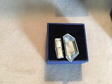 NWT Swarovski Rio Aquamarine Large Statement Ring - Size 9