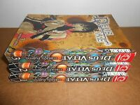 Deus Vitae Vol. 1 2 3 Manga Graphic Novel Book Complete Lot in English