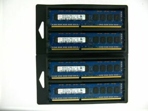 4x 8GB 32GB DDR3 ECC UDIMM RAM PC3-12800E 1600 MHz ProLiant ML310e Gen8 v1+v2