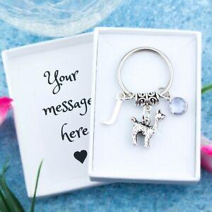 Llama Keyring, Personalised Gift, Alpaca Gifts, Cute Animal Keychain, Bag Charm