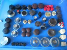 VINTAGE KNOBS FOR RECORD PLAYERS, AMPLIFIERS, RADIOS.1960's. 1 KNOB ONLY.