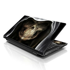 "17.3"" 18"" 19"" Laptop Notebook Skin Sticker Protective Decal Hooded Skull L-4857"