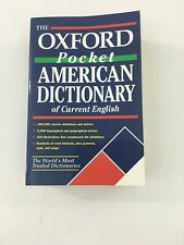 Oxford Pocket American Dictionary of Current English - Oxford (Paperback, 2002)