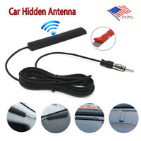 Car Radio Hidden Antenna Stealth Stereo FM AM For Truck Vehicle Motorcycle Boat