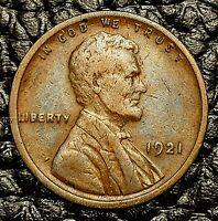 1921-P Lincoln Cent ~ VERY FINE (VF) Cndtn ~ $20 ORDERS SHIP FREE!