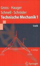 Technische Mechanik 1: Statik (Springer-Lehrbuch) von Gr... | Buch | Zustand gut
