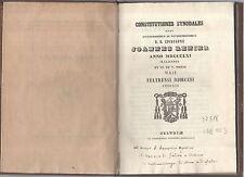 constitutiones synodales quas joannes renier d.d.epèiscopus edixit anno MDCCCLXI