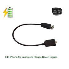 For Landrover Jaguar iPhone Se 5678X Plus ipad audio cable 2010-2012