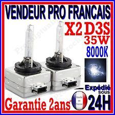 2 AMPOULES D3S BI XENON 35W KIT HID LAMPE DE RECHANGE D ORIGINE FEU PHARE 8000K