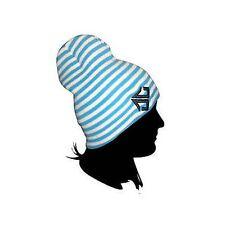 Épuisette Rue/Snowboard Bonnet - Double Rayé Bleu/Blanc SOLDES