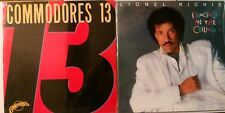 Lionel Richie Commodores 13 Dancing On The Ceiling~2 LP Lot New SEALED FREE SHIP