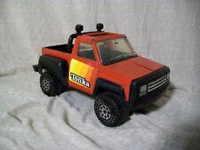 "Vintage 1979 Tonka Pickup Truck, Roll Bar, Baja Lights, Red and Black - 8.5"""