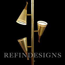 MODERN JET AGE ATOMIC TENSION POLE TRIENNALE SPOT FLOOR LAMP STIFFEL LIGHTOLIER
