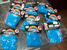 bulk job lot blue heart loom rubber bands 12 x 300 pk hook clips latex free