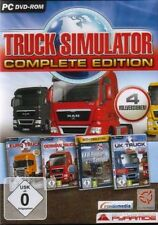 Euro truck simulator + uk + GERMAN + manoeuvre Complete Edition très bon état