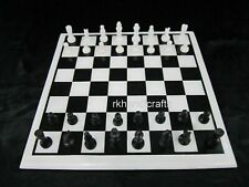 12 Inches Marble Chess Game Table with Coins game table Nice Gift for Birthday