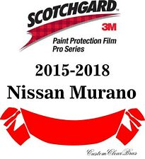 3M Scotchgard Paint Protection Pro Series Fits 2015 2016 2017 2018 Nissan Murano