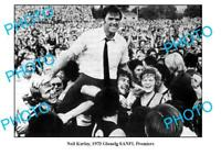 LARGE PHOTO NEIL KERLEY GLENELG FC 1973 SANFL PREMIERSHIP WIN