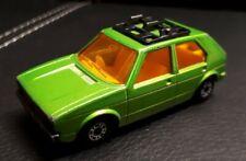Matchbox Superfast VW Golf  in grün  No. 7 - aus 1976  -  sehr gut erhalten