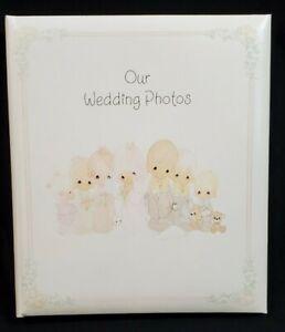"""Precious Moments """"Our Wedding Photos"""" Hallmark Photo Album"""