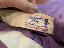 vintage western pants 50s 40s purple cowboy gay interest prince westmoor rayon