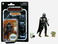 Star Wars Vintage Collection The Mandalorian Din Djarin & The Child Grogu NIP!