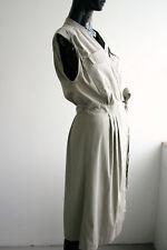 GORGEOUS DRIES VAN NOTEN Cotton Blend Safari Wrap Dress Sz FR40 US8