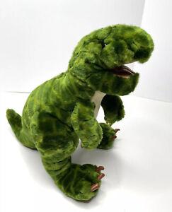 "Animal Alley T-Rex Dinosaur 16"" Plush Stuffed Animal Toys R Us 2000 SANITIZED"