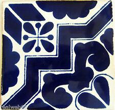 "C160- Mexican Handmade Talavera Clay Tile Folk Art 4x4""  Handpainted"
