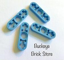 2x Liftarm 1x4 thin mince gris//light bluish gray 32449 NEUF Lego Technic