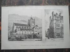 1890 Barmouth Kirche Cadegan Square  Knightsbridge London