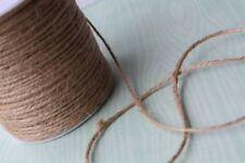 10m NATURAL BROWN JUTE STRING 1mm - CRAFTS CARD MAKING