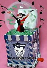DC Comic HARLEY QUINN SNOWGLOBE STATUE Robin JOKER BATMAN Maquette Figurine Bust