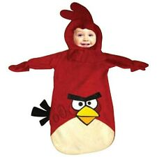 NEW Angry Birds Red Bird Infant Boy Girl Dress Up Costume Size Birth - 9 Months