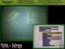 Triumph Trophy aus 2003 Ersatzteilkatalog auf Microfich_Microfilm_2x Fich_Film