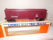NEW LIONEL 5728 CANADIAN PACIFIC LIGHTED BUNK CAR- 0/027 NEW- W6