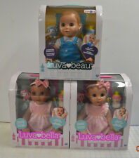 Lot of 3 Luva Bella Luvabella Luvabeau Set Dolls Blonde ToysRUs Exclusive Boy
