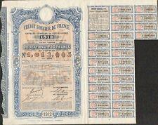 Emprunt CRÉDIT FONCIER de FRANCE 1912 (U)