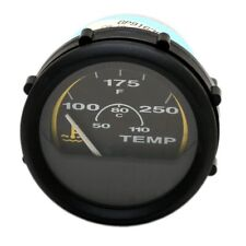 Bayliner Maxum Faria Gp9163 Black Marine Boat Temperature Gauge