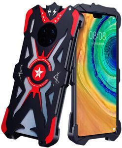 Cool Zimon Man Pentagram Armor Metal Bumper Shockproof Hard Case Cover For Phone
