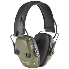 Howard Leight Impact Sport Kapselgehörschutz für Erwachsene Olivgrün Gehörschutz
