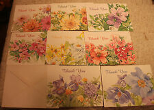 DISABLED PARALYZED AMERICAN VETERANS THANK YOU CARDS & ENVELOPES LOT OF 8 A