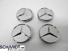 Mercedes Benz original Nabendeckel Radnabendeckel 4x B66470202 Titansilber