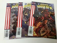 HOUSE OF M IRON MAN #1-3 (MARVEL/GREG PAK/LEE/0617124) COMPLETE SET LOT OF 3