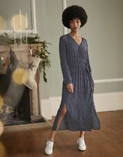 Joules Womens Chloe Fixed Wrap Dress - Navy Star