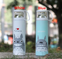 New Cartoon Cat Stainless Steel Thermos Cup Tea Water Coffee Vacuum Travel Mug