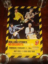 Rolling Stones No Security Delta Center Salt Lake City Utah 1999 Concert Poster