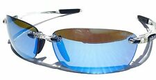 NEW* REVO DESCEND E CLEAR Frame w POLARIZED Blue Water Lens Sunglass 4060 09 BL