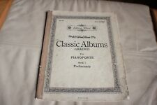 Classic Albums for  for pianoforte Book 1 - Preliminary B F  Wood edition