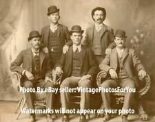 Vintage/Antique Old/Wild West Butch Cassidy & Sundance Kid Wild Bunch 1900 Photo